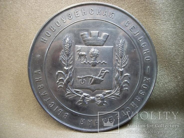 РБ14 Серебряная медаль за успехи и трудолюбие в сельском хозяйстве. Серебро. СПБ 1904 год
