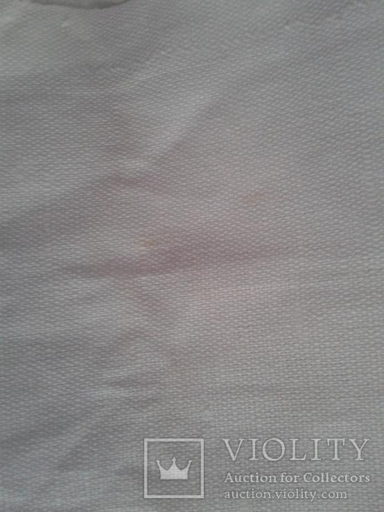 Простынь льняная с узорами новая, фото №5