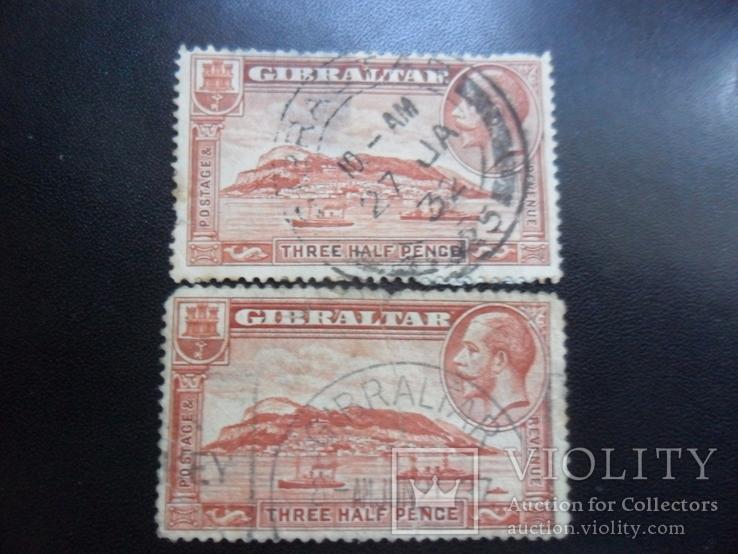 Корабли. Британские колонии. Гибралтар. 1931 г. гаш