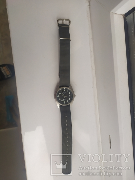 Военные часы A Pulsar G10 Military Wristwatch, 6645-99 оригинал, фото №2