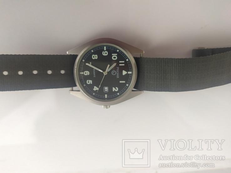 Военные часы A Pulsar G10 Military Wristwatch, 6645-99 оригинал, фото №6