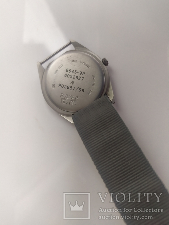 Военные часы A Pulsar G10 Military Wristwatch, 6645-99 оригинал, фото №10