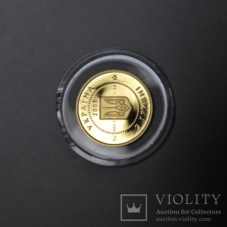Золотая монета 2 гривны Скифское золото., фото №10