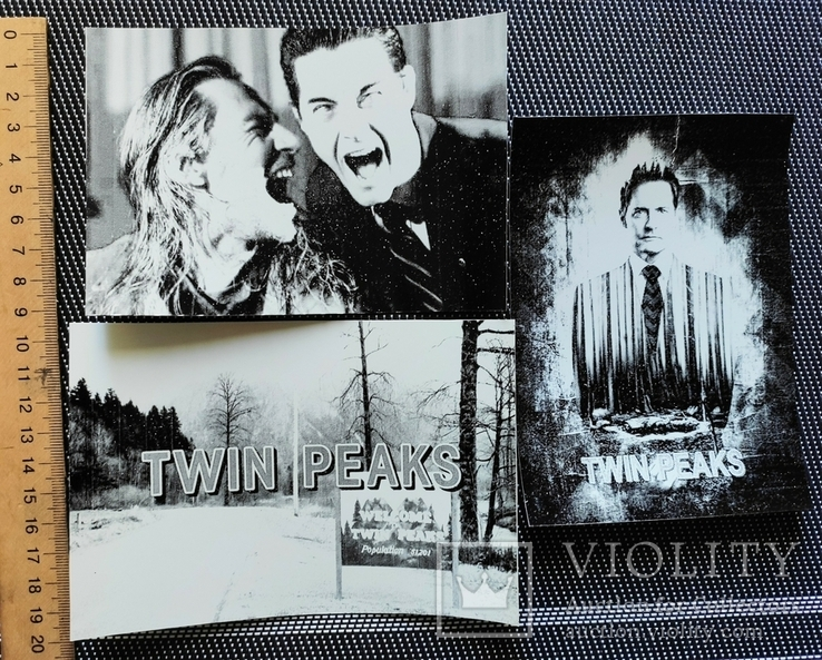 Фотографии 90-х гг. Твин Пикс. Twin Peaks. Репринт, фото №3