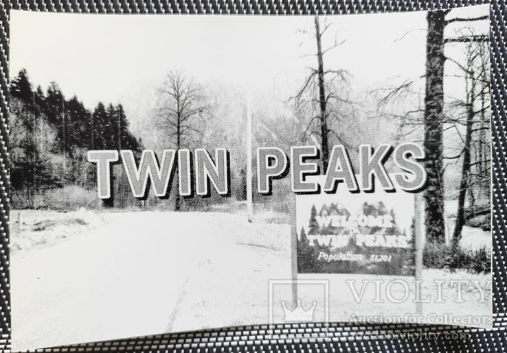 Фотографии 90-х гг. Твин Пикс. Twin Peaks. Репринт, фото №4