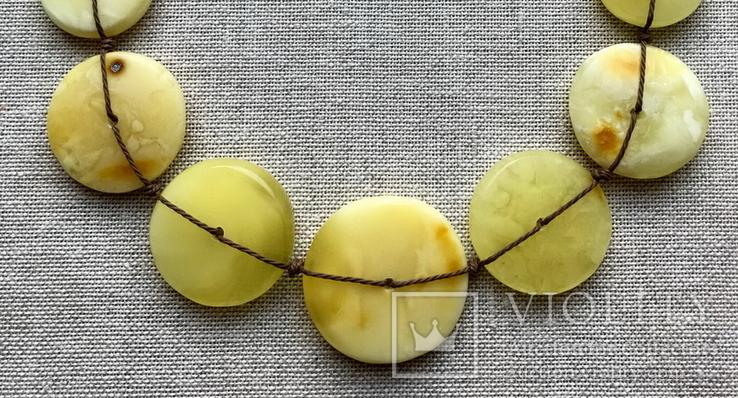 Ожерелья из натурального янтаря. 44 гр., фото №3