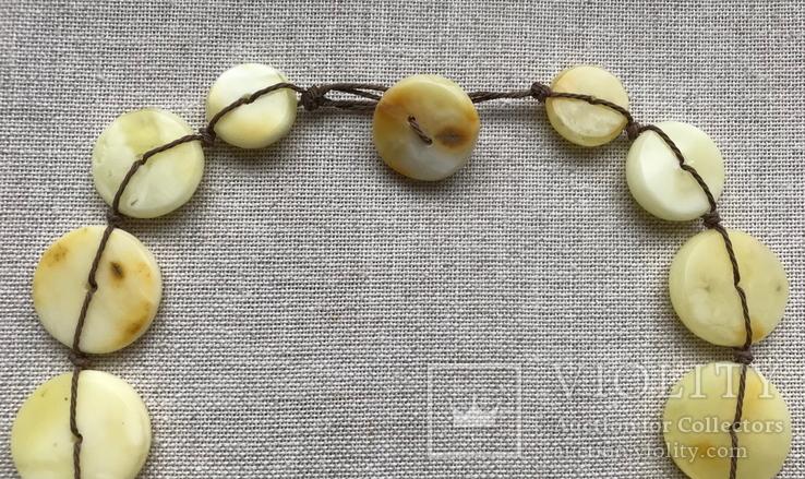 Ожерелья из натурального янтаря. 44 гр., фото №4