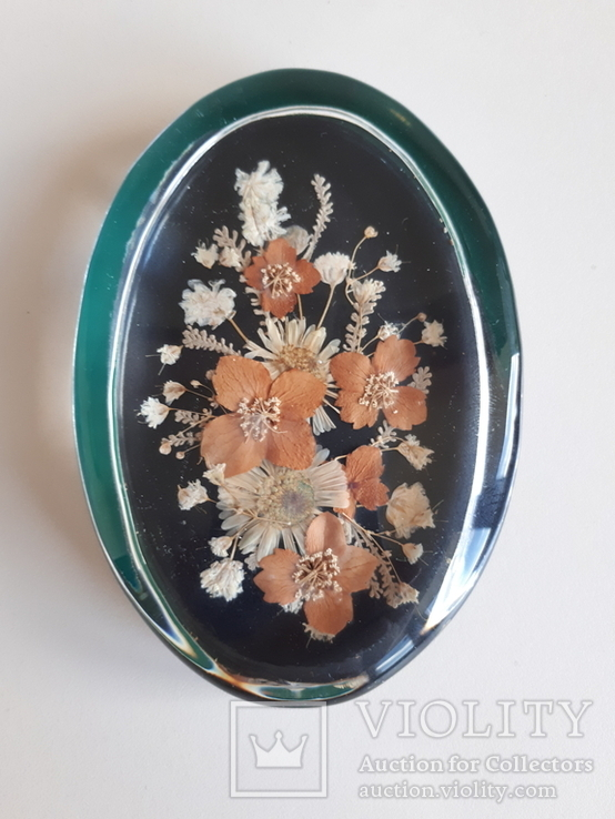 Сувенир Гербарий в стекле, фото №2