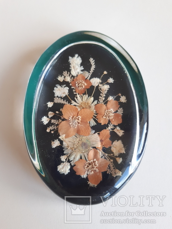 Сувенир Гербарий в стекле, фото №8