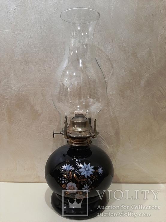 Керосиновая масляная лампа Lamplight Farms, Inc. 1980 год, фото №2
