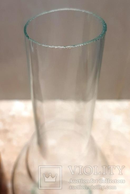 Керосиновая лампа СССР корпус цветное стекло, фото №4