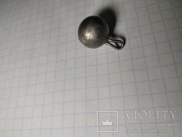 Серебряная пуговица, фото №3
