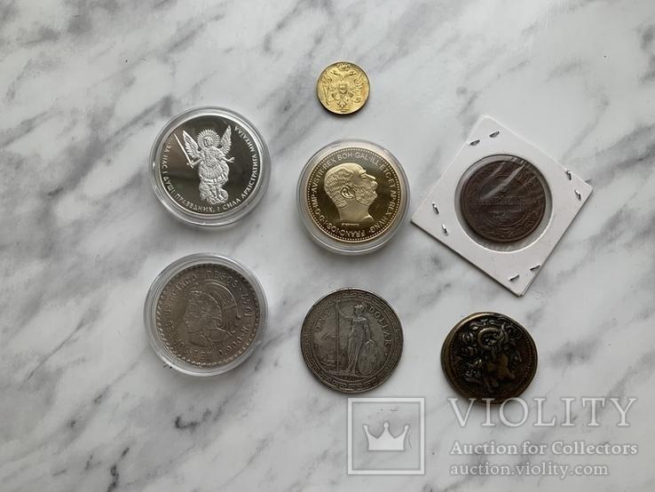 Копии монет 7 шт, фото №2