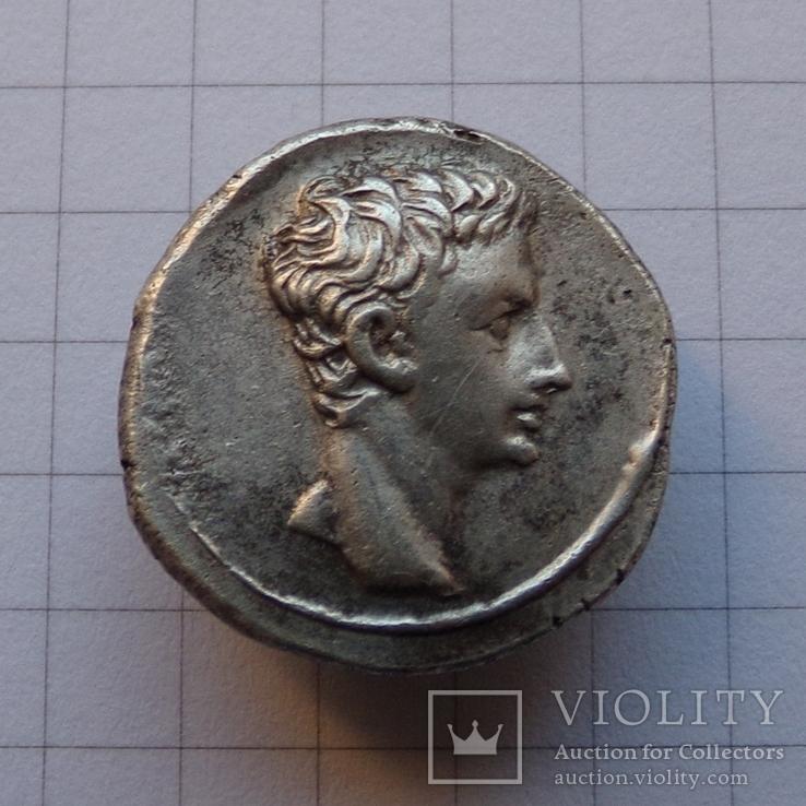 Денарій, Октавіан Август / козеріг., фото №2