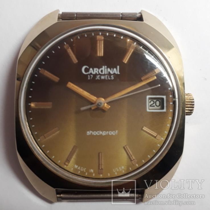 Часы  механические CARDINAL,AU10, фото №2