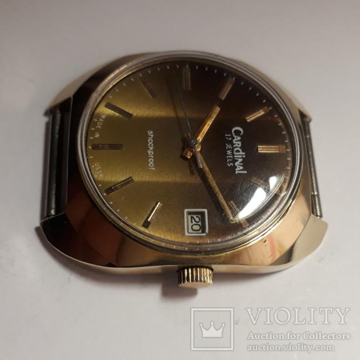 Часы  механические CARDINAL,AU10, фото №3