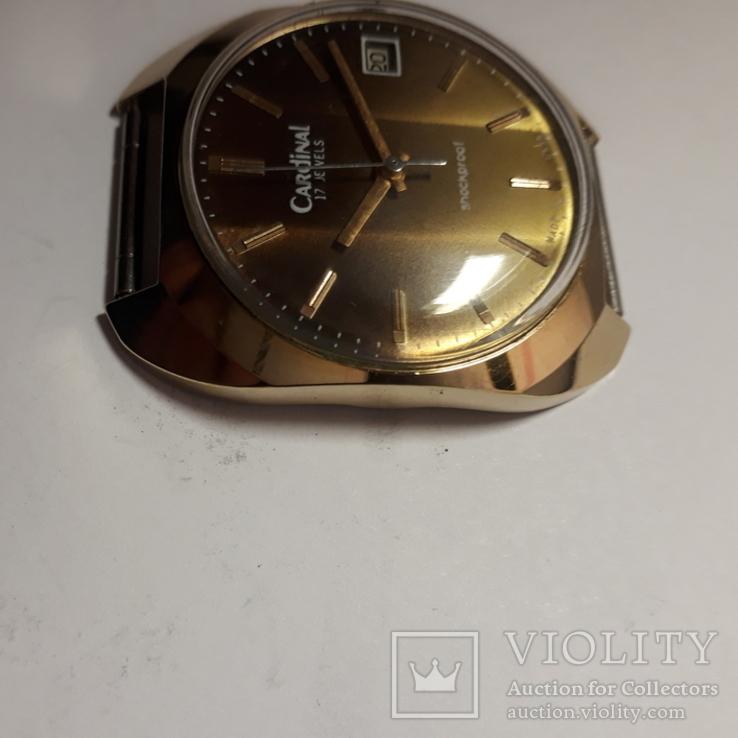 Часы  механические CARDINAL,AU10, фото №5