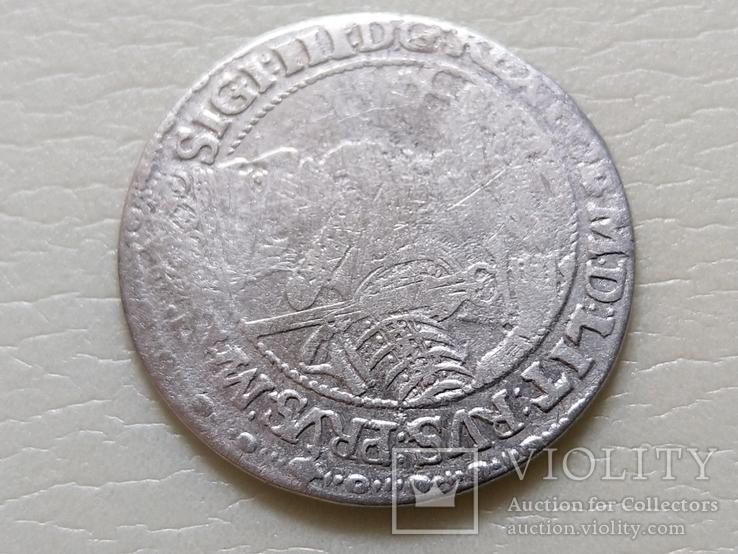 """Коронный Орт 1621 год. Быгдощ. (№5). нет буквы S """"SIGI""""., фото №3"""