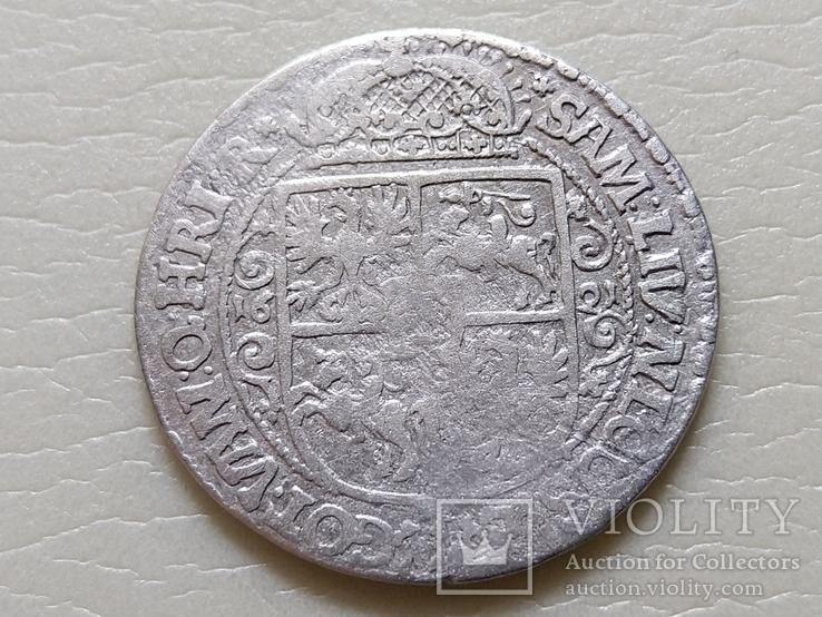 """Коронный Орт 1621 год. Быгдощ. (№5). нет буквы S """"SIGI""""., фото №6"""