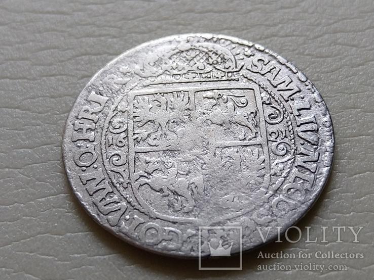 """Коронный Орт 1621 год. Быгдощ. (№5). нет буквы S """"SIGI""""., фото №7"""
