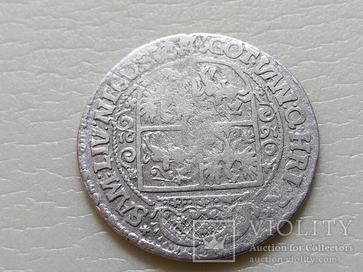 """Коронный Орт 1621 год. Быгдощ. (№5). нет буквы S """"SIGI""""., фото №9"""