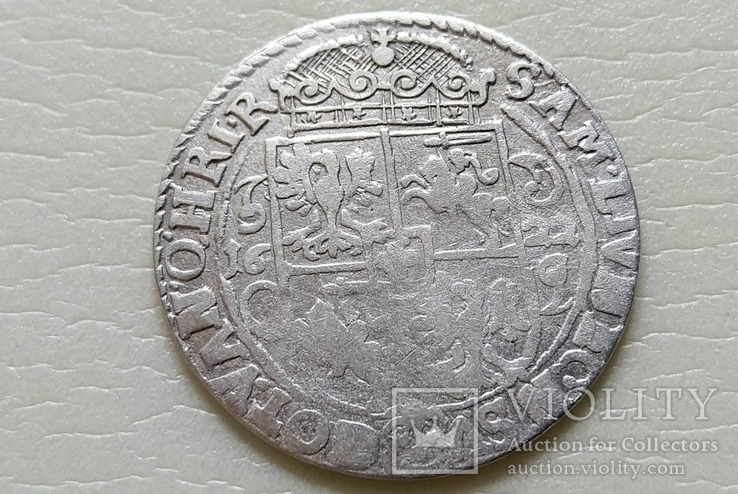 Коронный Орт 1622 год. Быгдощ. (№6). SIGIS-сдвоенные буквы., фото №8