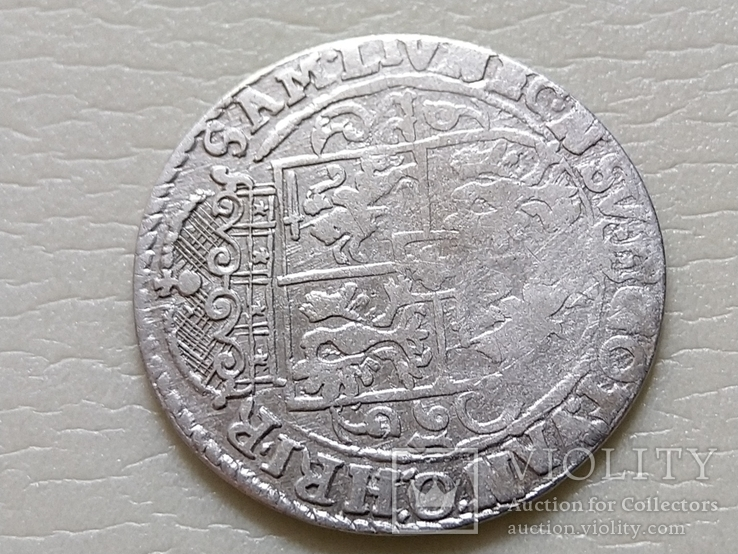 Коронный Орт 1622 год. Быгдощ. (№6). SIGIS-сдвоенные буквы., фото №9