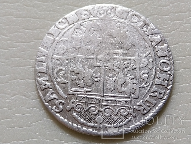 Коронный Орт 1622 год. Быгдощ. (№6). SIGIS-сдвоенные буквы., фото №10