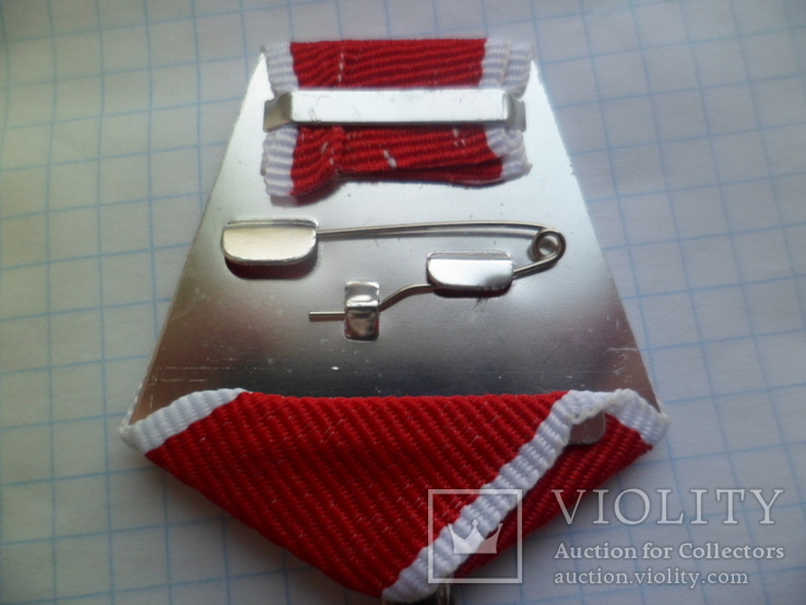 Серебрений крест мужество копия, фото №6