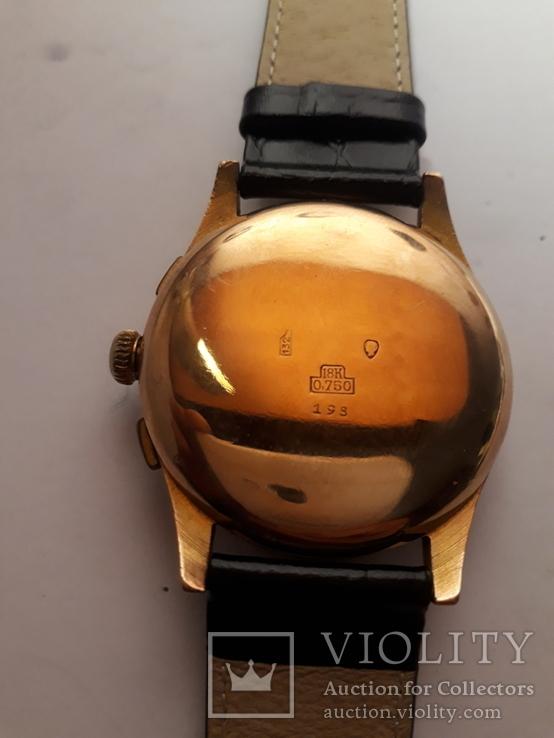 Часы золотые швейцарские TITUS, фото №5
