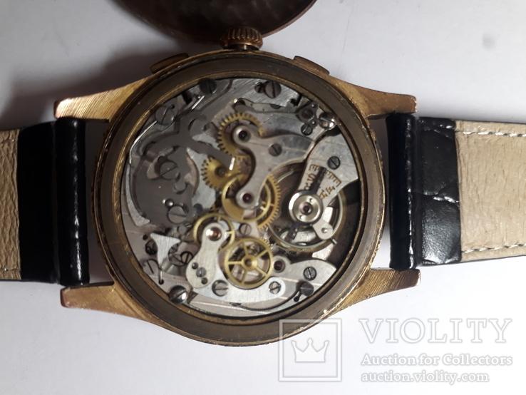 Часы золотые швейцарские TITUS, фото №10