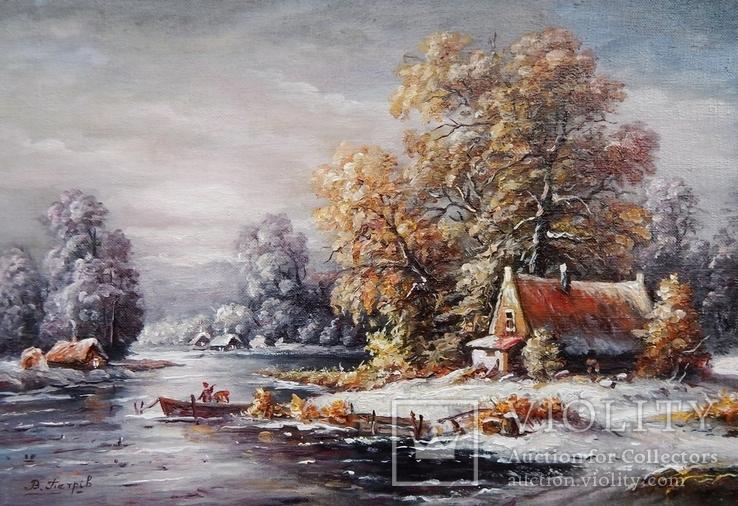 """""""Зима"""" 24x35 2020, фото №2"""