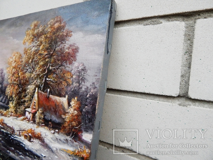 """""""Зима"""" 24x35 2020, фото №3"""