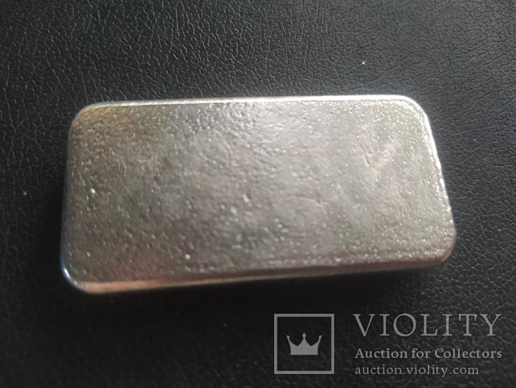 Слиток серебра сертификат, фото №7