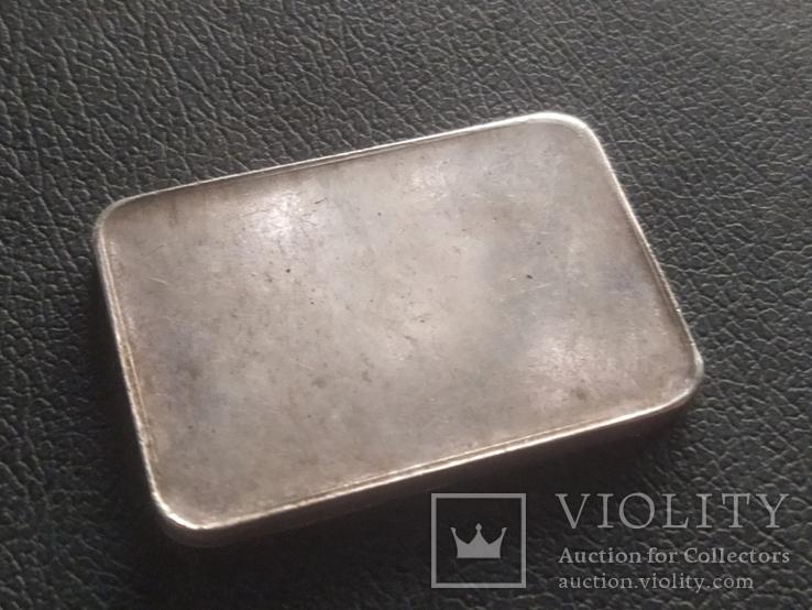 Слиток серебра № 2 25 грамм, фото №6