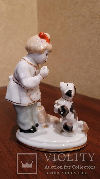 Дівчинка з песиком та лялькою, фото №5