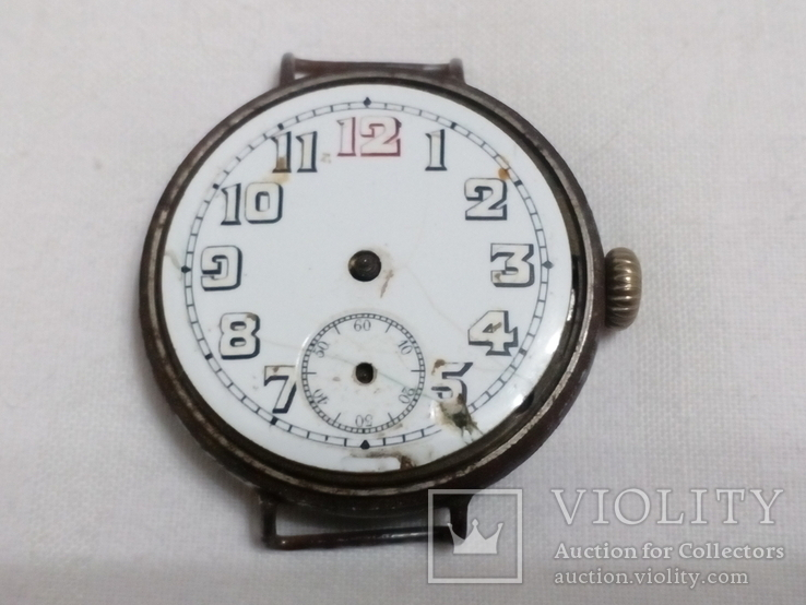 Наручные Швейцарские часы 1910-х годов., фото №3