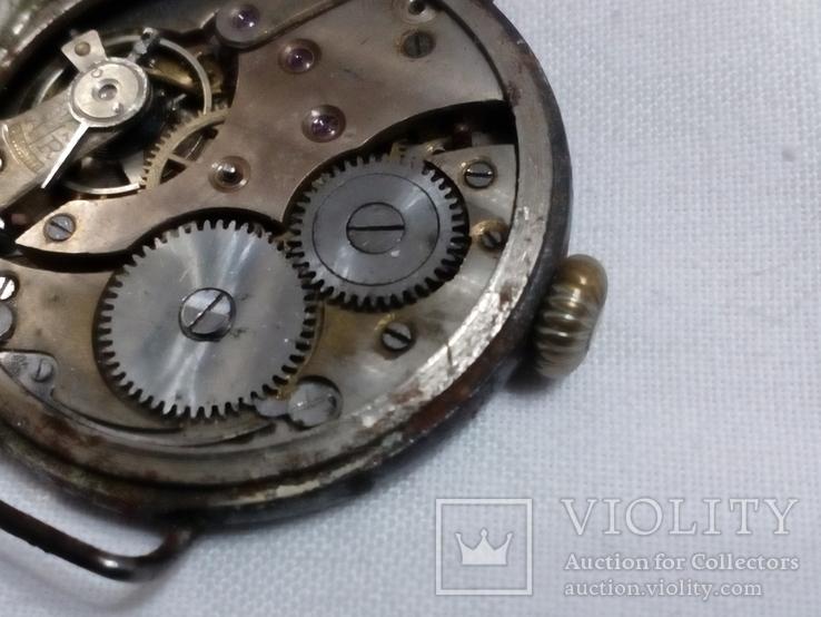 Наручные Швейцарские часы 1910-х годов., фото №9