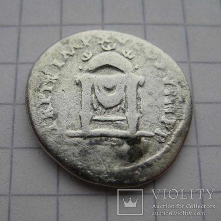 Денарий, Веспасиан (нечастый реверс), фото №2