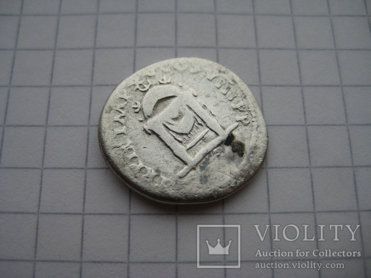 Денарий, Веспасиан (нечастый реверс), фото №11