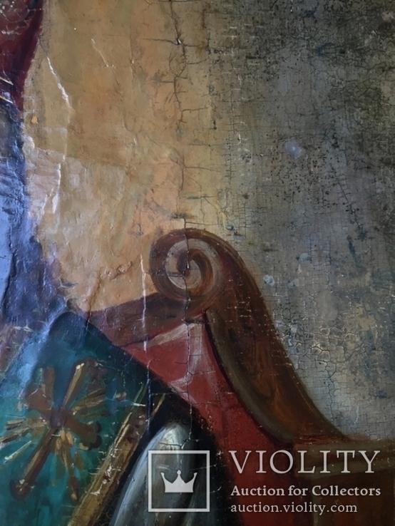 Икона Спас на троне Академическая, фото №7