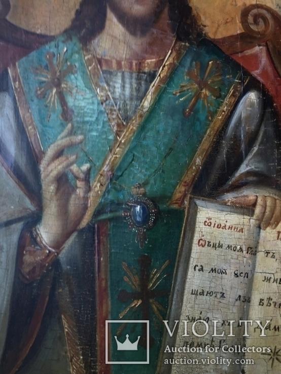 Икона Спас на троне Академическая, фото №8