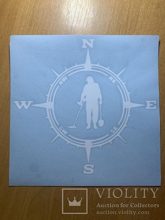 Наклейка на автомобиль №2W, фото №3