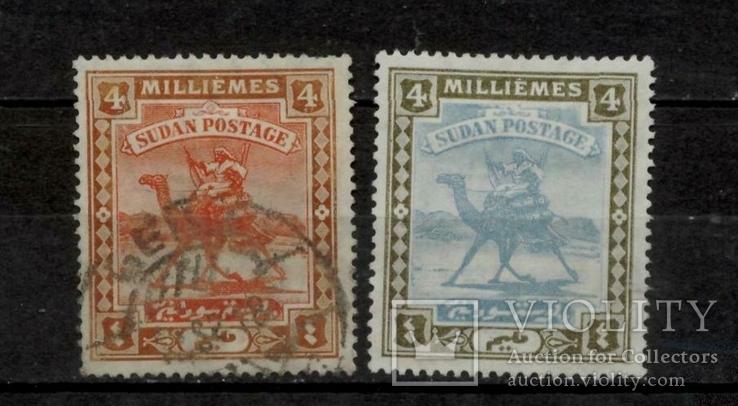 Судан 1902 верблюд колонія Британії
