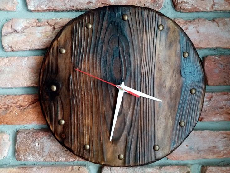 Годинник настінний (дерево)