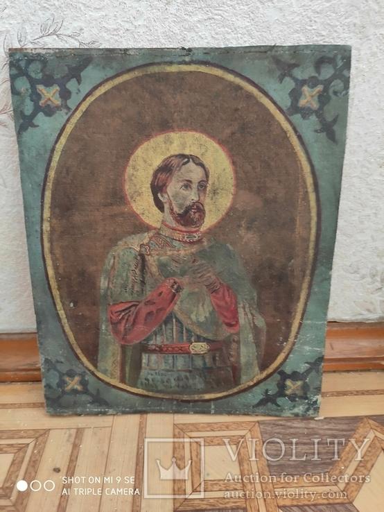 Икона на холсте, фото №2