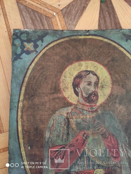 Икона на холсте, фото №9