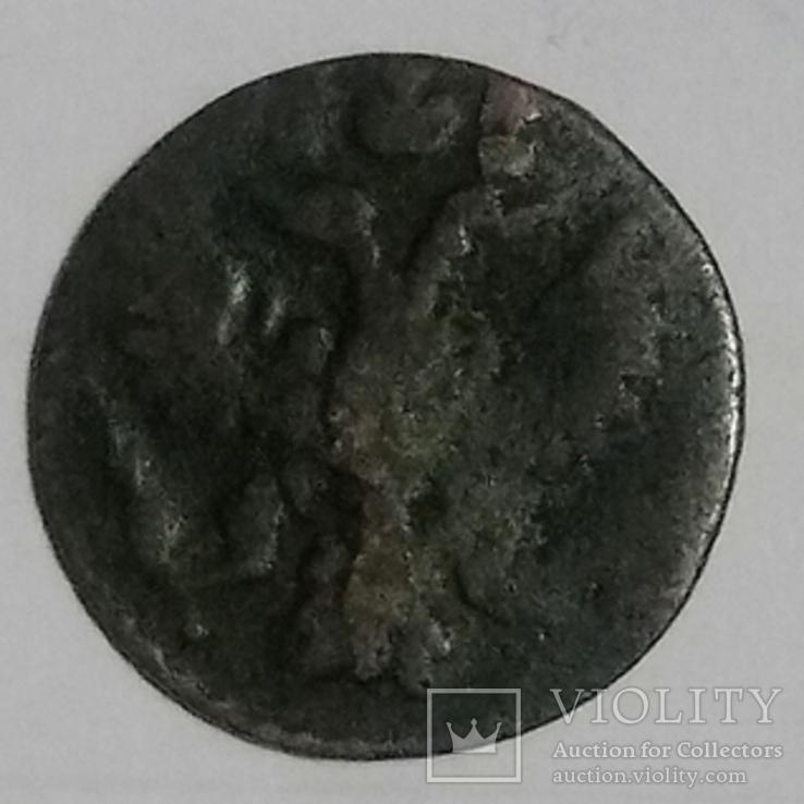 Полушка 1735 год, фото №2