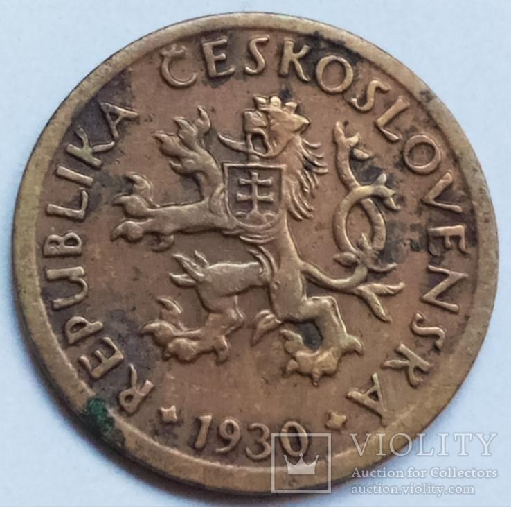 10 геллеров 1930 г. Чехословакия, фото №2