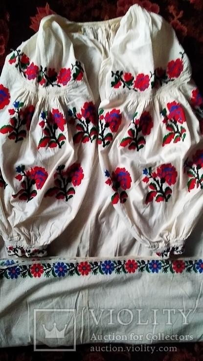 Старинная вышиванка Сумщина, фото №4
